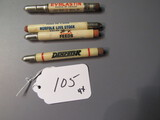 advertising bullet pencils   4X