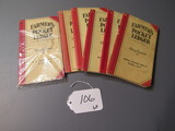 Farmer's pocket ledgers (1-MN, 1 IN, 3 NE, 1 MT)  6X