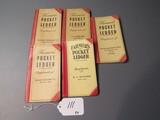 farmer's pocket ledgers  5X