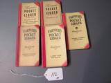 farmer's pocket ledgers (VA, SC, MO, MN, WI)  5X