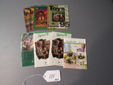 toy collectible pamphlets   10X