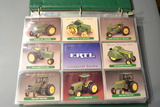 Album of tractor collector cards