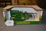 diecast JD lindeman crawler & cultivator  W/box