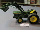 diecast JD tractor with front loader