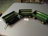JD farm wagons   3X