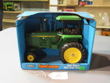 diecast JD row crop tractor W/ box