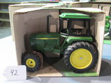 diecast JD utility tractor W/ box