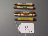 advertising bullet pencils   5X