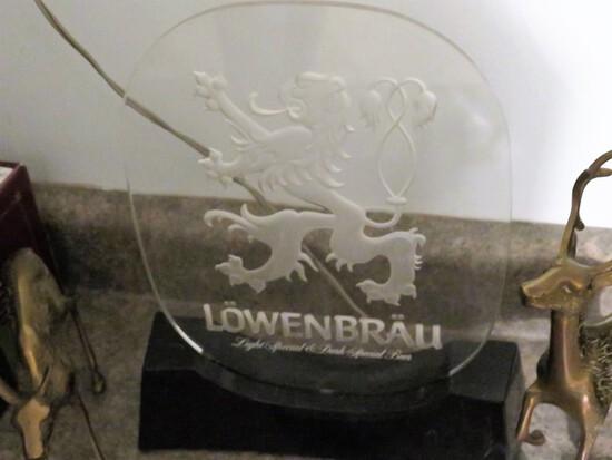 Lowenbrau Display