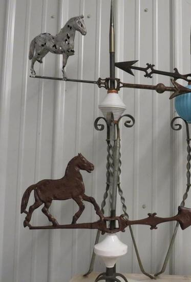 Horse Directional Weather Vane