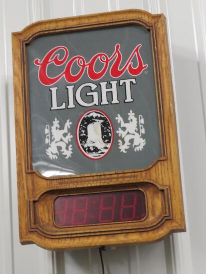 Coors Light Wall Clock