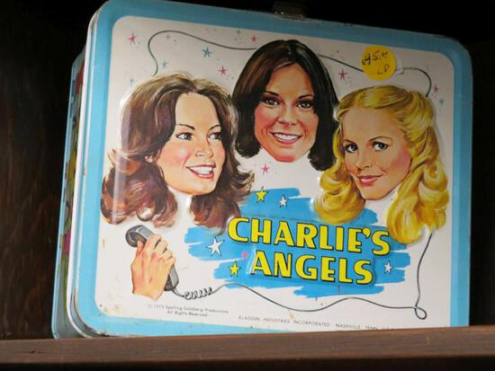 Charlies Angels Lunch Pale with Thermos