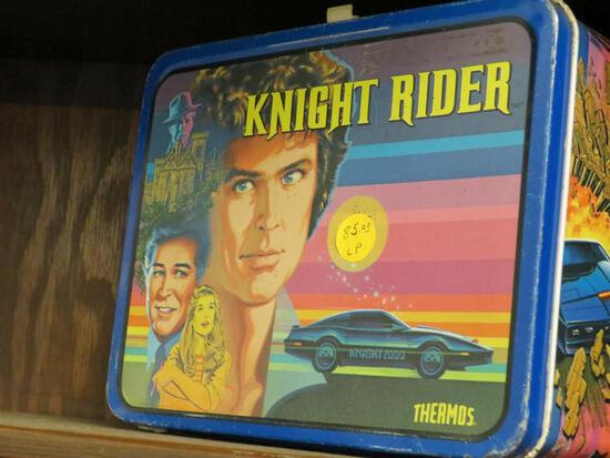Knight Rider Lunch Pale with Thermos