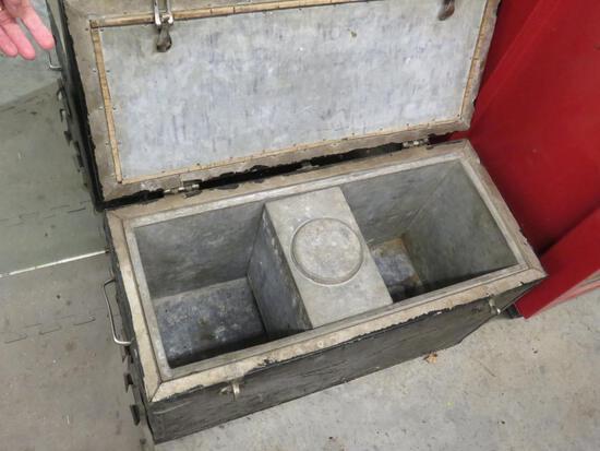 Galvanized Departmental Cooler