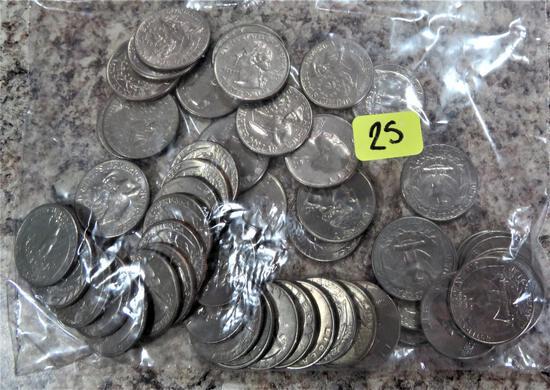 51 Clad Quarters