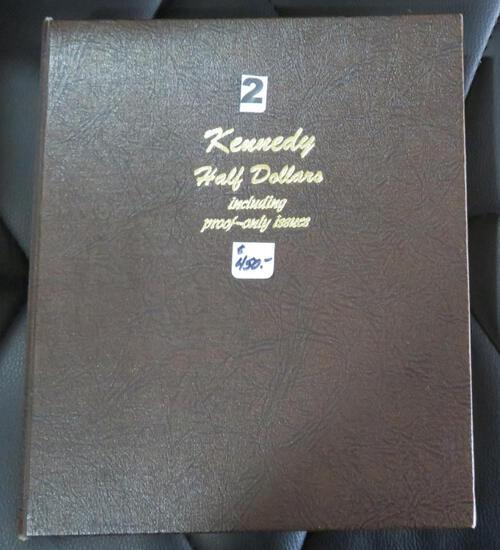 1964-2001-S Kennedy Half Dansco