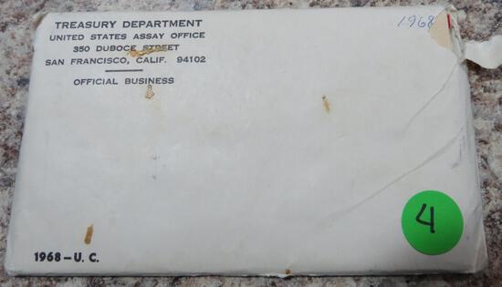 1968 P&D Mint Set