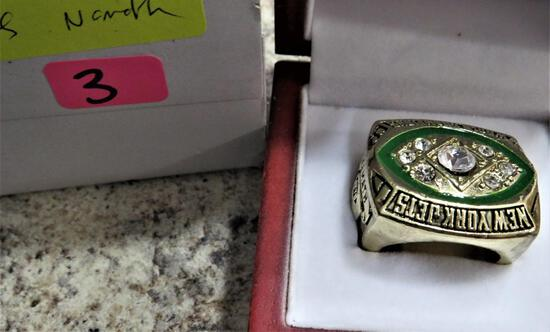 Jets 1968 Super Bowl  Ring