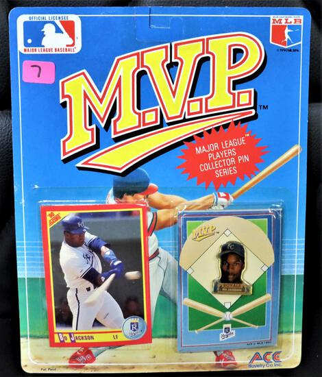 MVP Bo Jackson Collectors Pin