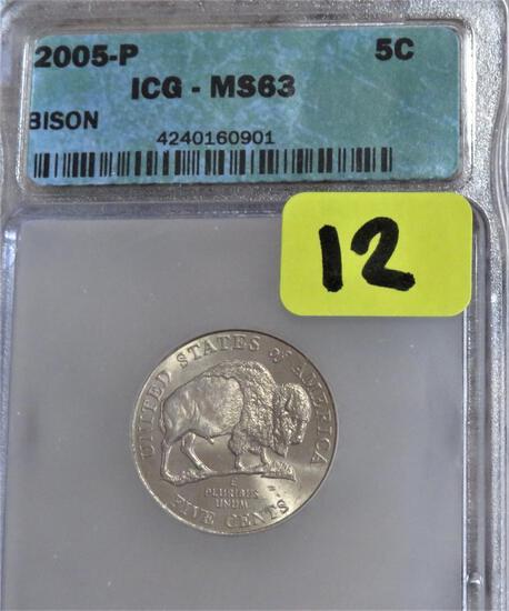 2005-P Bison Nickel