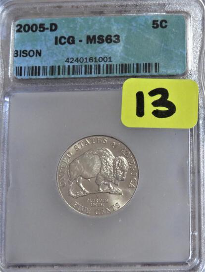 2005-D Bison Nickel