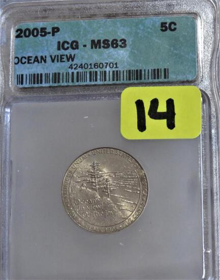2005-P Ocean View Nickel