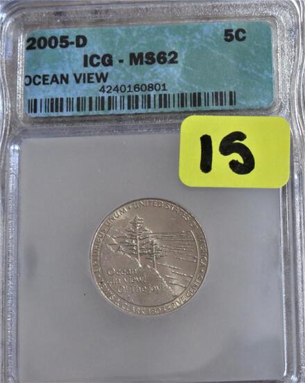 2005-D Ocean View Nickel