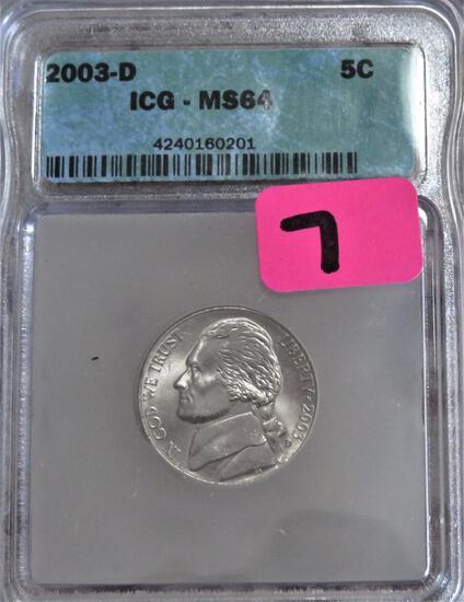 2003-D Jefferson Nickel