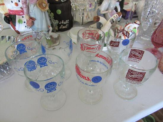 7 Various Beer Chalices