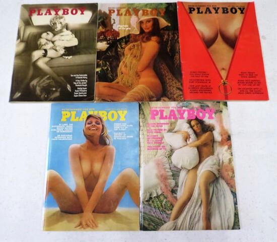 5 1973 PLAYBOYS