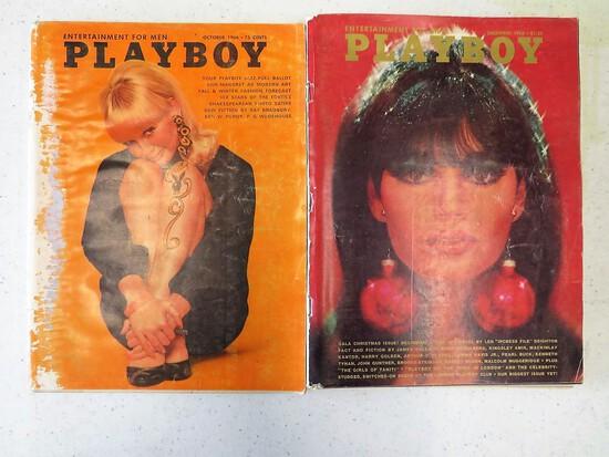 OCT AND NOV 1966 PLAYBOYS
