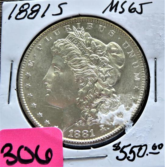 COINS AND CURRENCY AUCTION