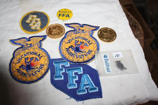 (8) Vintage FFA Items