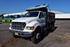2002 Ford F-750 Super Duty Single Axle Dump Truck