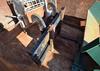 Backhoe Loader Pallet Forks Attachment