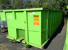Rectangular Open Top Roll-Off Container, 30 Cu Yd