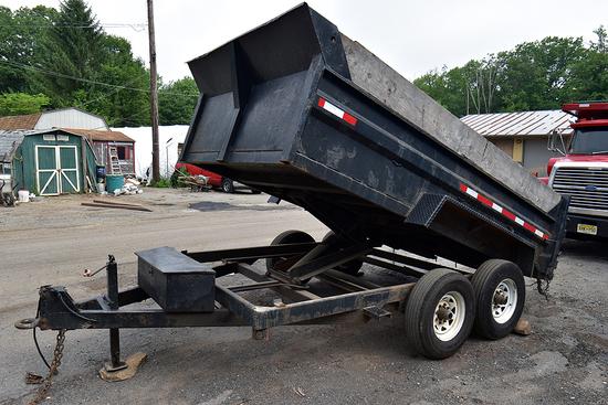 2013 Sure-Trac tandem dump trailer
