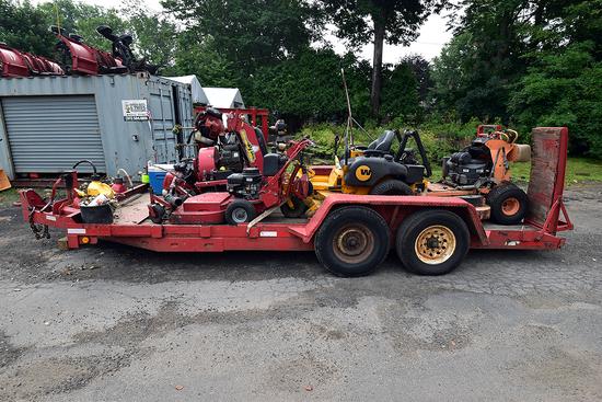 2007 Millennium tandem axle equipment trailer