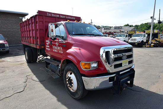 2004 Ford F-650 Stakebody Dump Truck