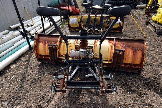 Meyers 8ft Snow Plow w/Meyers Hydraulic System