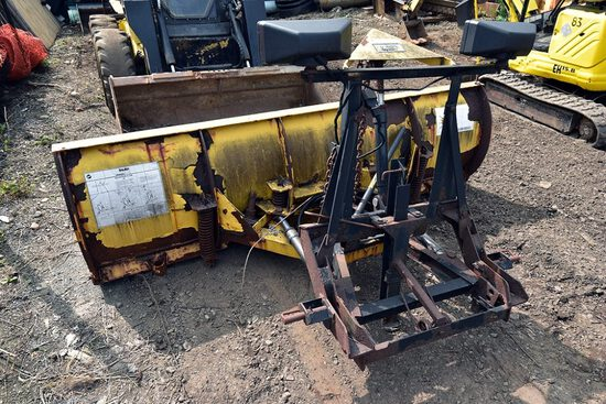 Fisher 8ft Snow Plow w/Minute Mount System