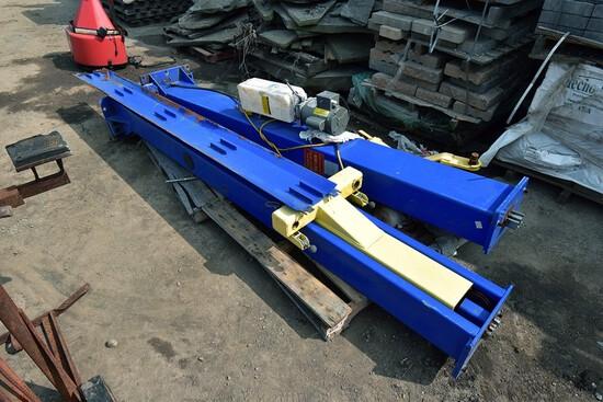 Two-Post Lift Model: TP9KF , 9,000Lb. Capacity