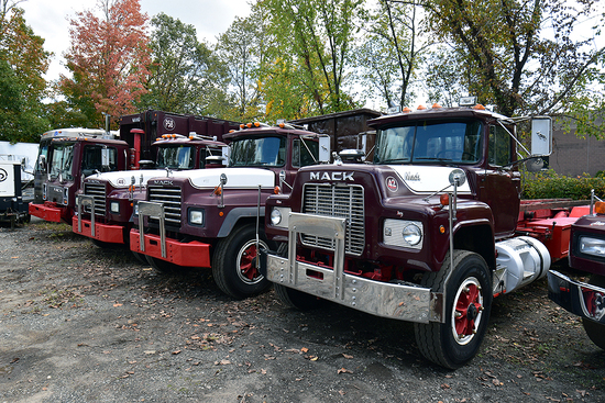 Mack Roll Off Trucks & Compaction Units
