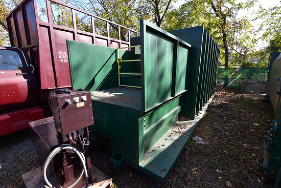 30 Yd. Self Contained Compactor Unit w/Dual-Pickup, Safety Guards & Swing Rail Open Charge Box