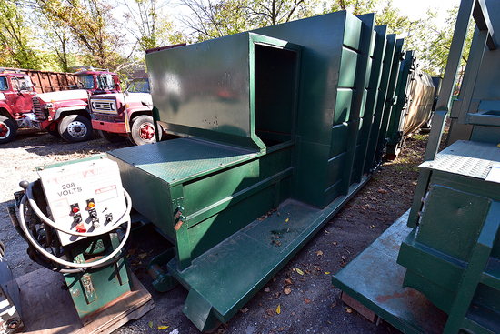 Actron 17 yd. Self Contained Compactor w/Dual-Pickup & Charge Box