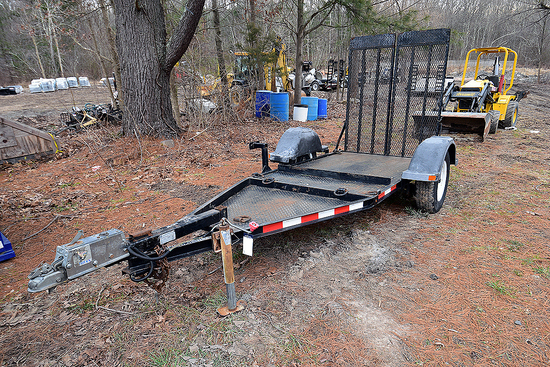 2013 MMDI Single-Axle Equipment Trailer