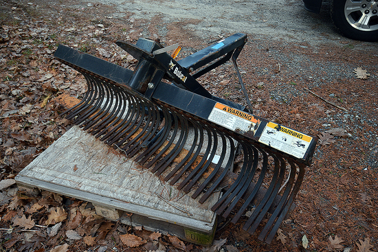 "Bobcat 72"" Rake Attachment (new)"