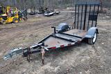 2013 MMDI Single-Axle Equipment Trailer