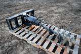 Tomahawk Augur Hydraulic Skid steer Attachment