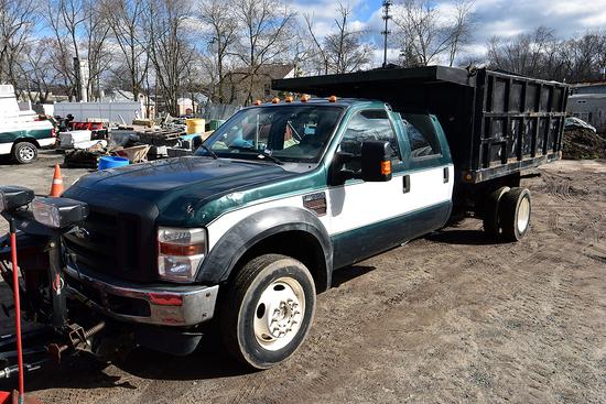 2010 Ford F-550, 4WD, Crew Cab